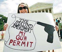 The Second Amendment of Gun Rights