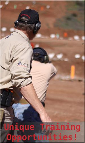 Pistol Training at Aegis Academy