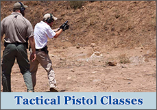 Tactical Pistol Classes